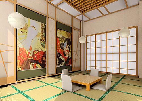 日式风格家居设计 讲究简洁工整与深邃意境