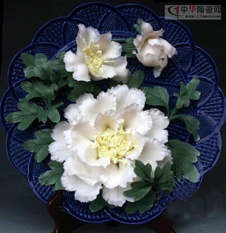手捏编织瓷花 源于生活而高于生活(图)
